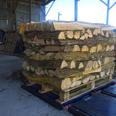 bois palettisé 40 et 25 cm